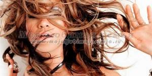 Колорирование темных волос