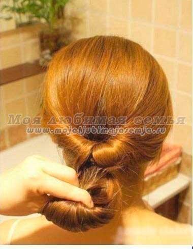 Косы на волосы своими руками фото