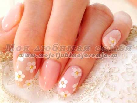 Свадебный дизайн ногтей, фото