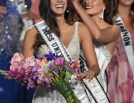 Колумбийская победительница конкурса красоты «Мисс Вселенная».