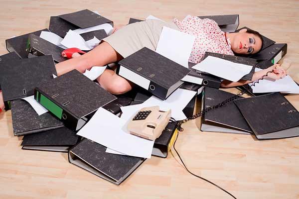 Каковы причины усталости на работе