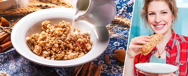 Завтраки способствуют снижению веса.