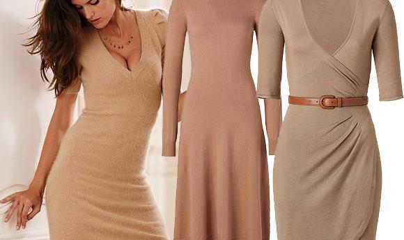 Трикотажные платья.