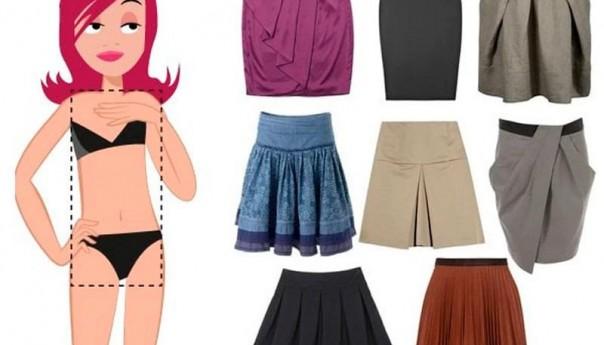 Подбираем юбку - выглядим стильно.
