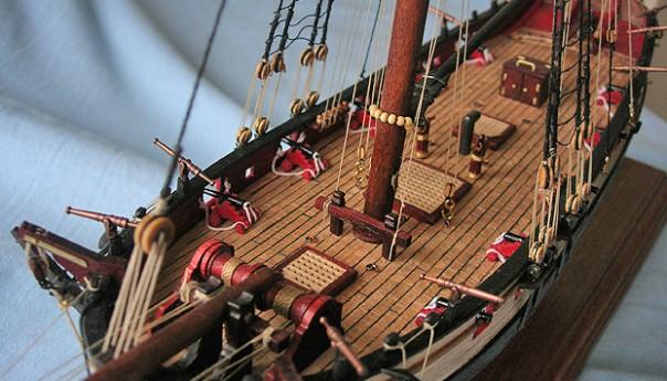 О моделировании кораблей.