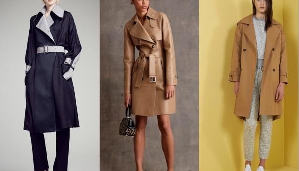 Модные женские плащи осень 2016.