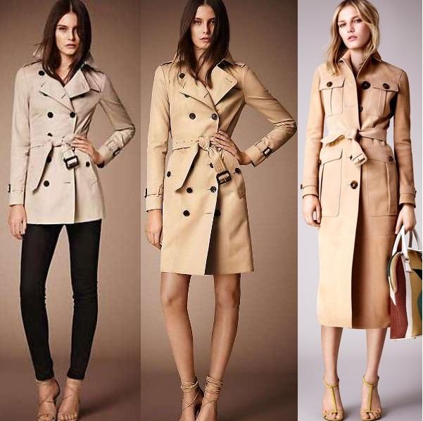Модные женские плащи осень 2016