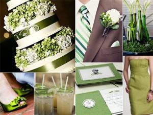 Цвета и тона для весенней свадьбы
