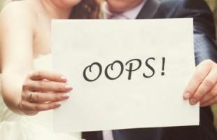Распространенные ошибки при планировании свадьбы.