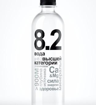 Вода «8.2» – сбалансированно, полезно и недорого!