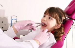 Лечение зубов у детей.