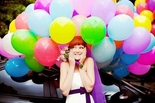 Воздушные шарики на любой праздник