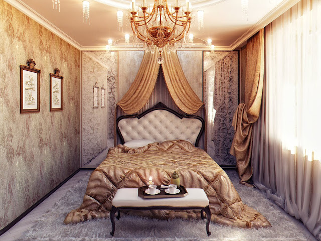 Оформляем спальню в стиле будуар
