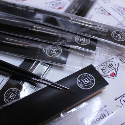 Набор кистей для макияжа Kodi Professional - тонкий завиток.