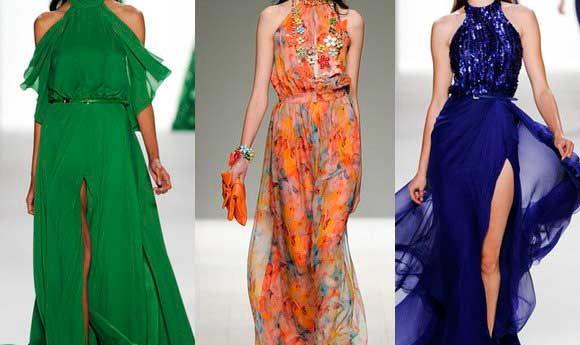 Шифон - одна из лучших тканей для женских нарядов.