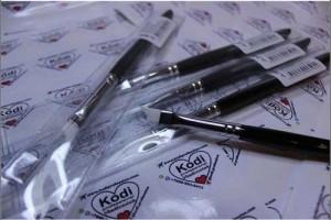 Набор кистей Kodi Professional для тонкой линии улыбки.