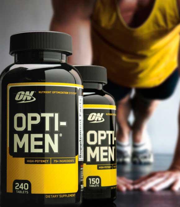 Витамины для мужчин Opti Men.